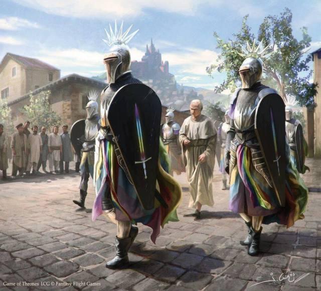 La Guardia Real, por Joshua Cairós
