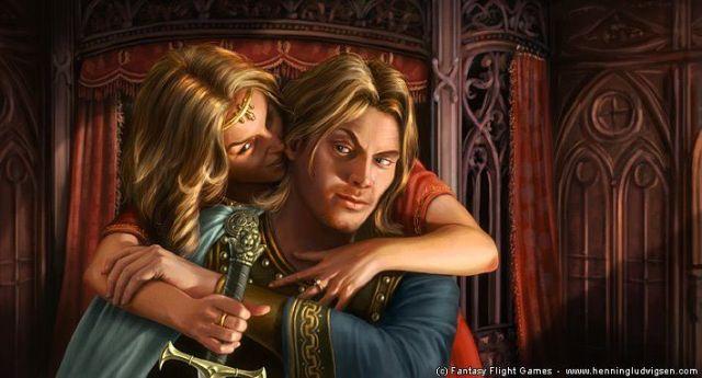 Cersei y Jaime, por Hennin Ludvigsen