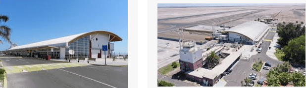 Lost and found airport Arica