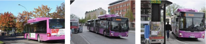 Lost found bus Orebro