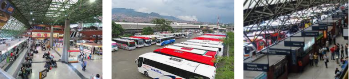 Lost and found bus station Medellin