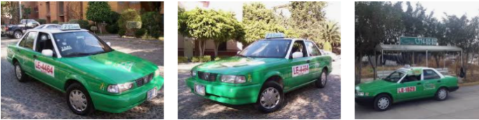 Lost and found taxi Leon