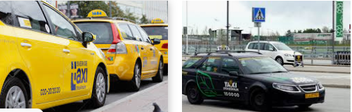 Lost found taxi Stockholm