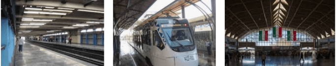 Lost and found train station Puebla