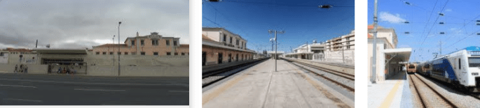 Lost found train station Setubal
