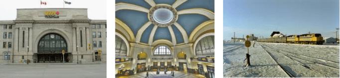 Lost found train station Winnipeg