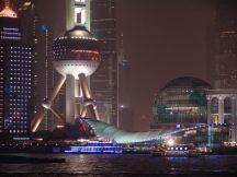 Blick auf Pudong