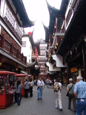 Old Town (neu aufgebaut für Touristen)