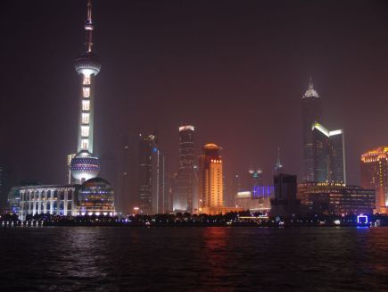 Blick auf Pudong