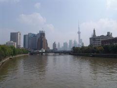 Blick über den Suzhou Creek