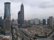 Pudong, hier entsteht das IFC