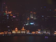 Blick auf den Bund bei Nacht