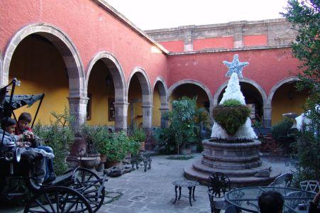 Innenhof in San Miguel De Allende
