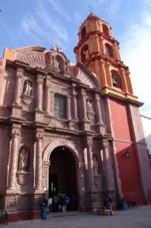 Kirche in San Miguel De Allende