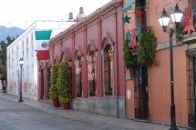 Morgendämmerung in Oaxaca de Juárez