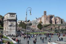 Konstantinsbogen & Forum Romanum