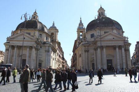 Santa Maria in Monte Santo & Santa Maria dei Miracoli