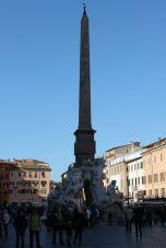 Fontana dei Quattro Fiumi (Vierströmebrunnen) auf der Piazza Navona