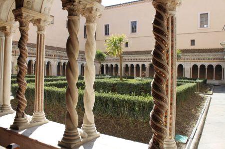 Kreuzgang von San Paolo fuori le Mura