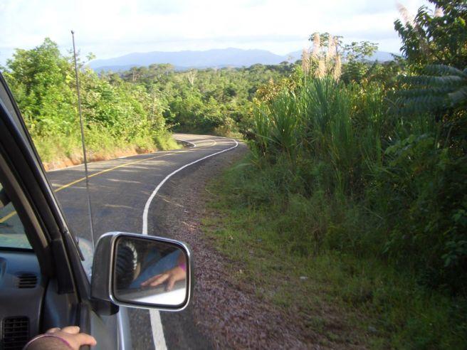 Auf dem Rückweg nach Panama City