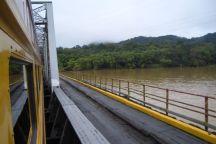 Panama Canal Train
