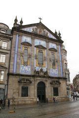 Kirche an der Rua dos Clérigos