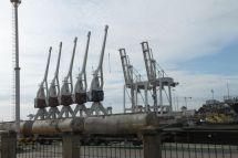 Der Atlantik-Hafen von Porto