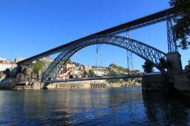 Blick auf Ribeira und Ponte de Dom Luís I.