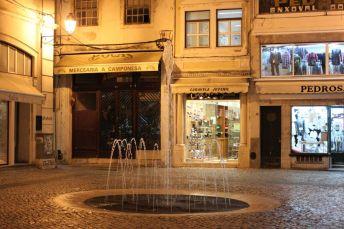 Im Gassengewirr von Coimbra