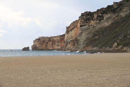 Strand und Küste von Nazaré
