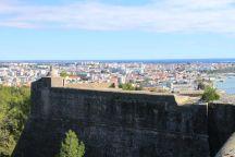 Blick vom Castelo São Filipe
