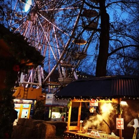 Christmas market, Frogner Park