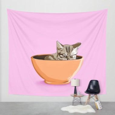 cat-coffee-mug-tapestries