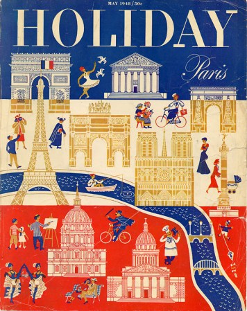 Vintage Holiday magazine cover