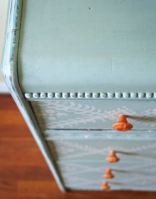 Waterfall Chest of Drawers Reveal: Painting Furniture with Annie Sloan Chalk Paint