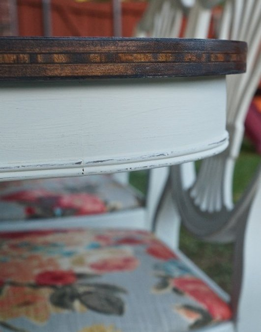Before & After | Dining Set Makeover With Chalk Paint