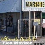 how to shop at flea markets