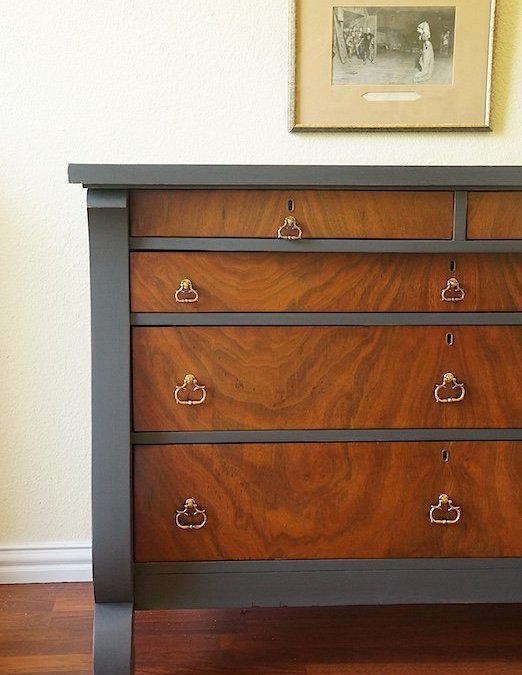A Stunning Ash Dresser { Furniture Makeover }