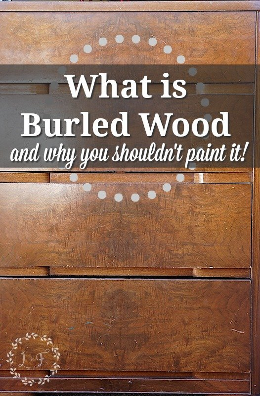 Bon What Is Burled Wood And Why You Shouldnu0027t Paint It