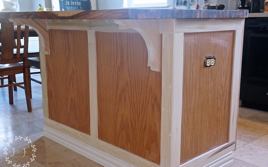 How to Customize a Kitchen Island with Trim