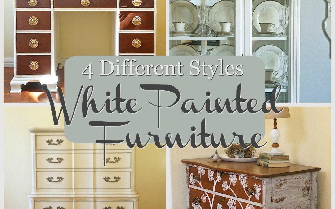 4 Different Styles for White Painted Furniture