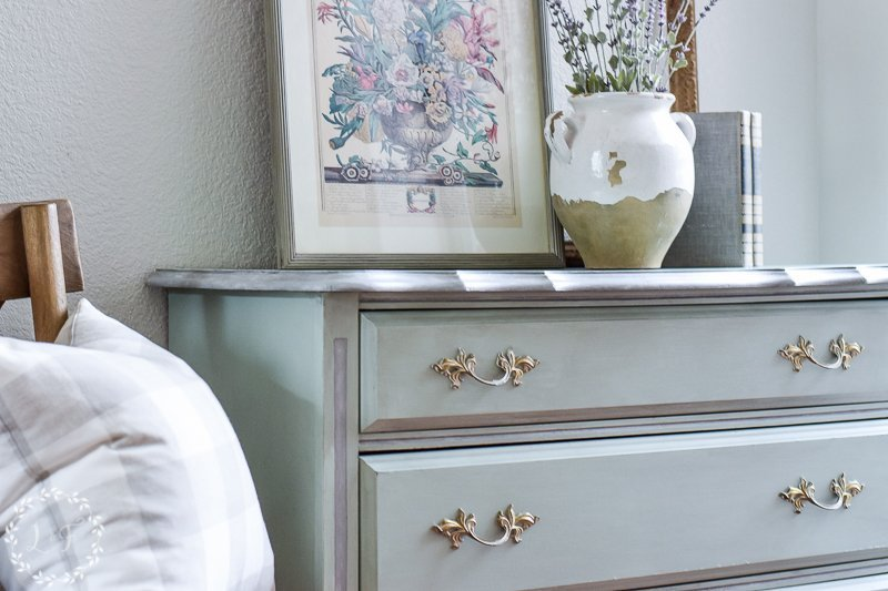 French Provincial Dresser Makeover in Fusion's Inglenook