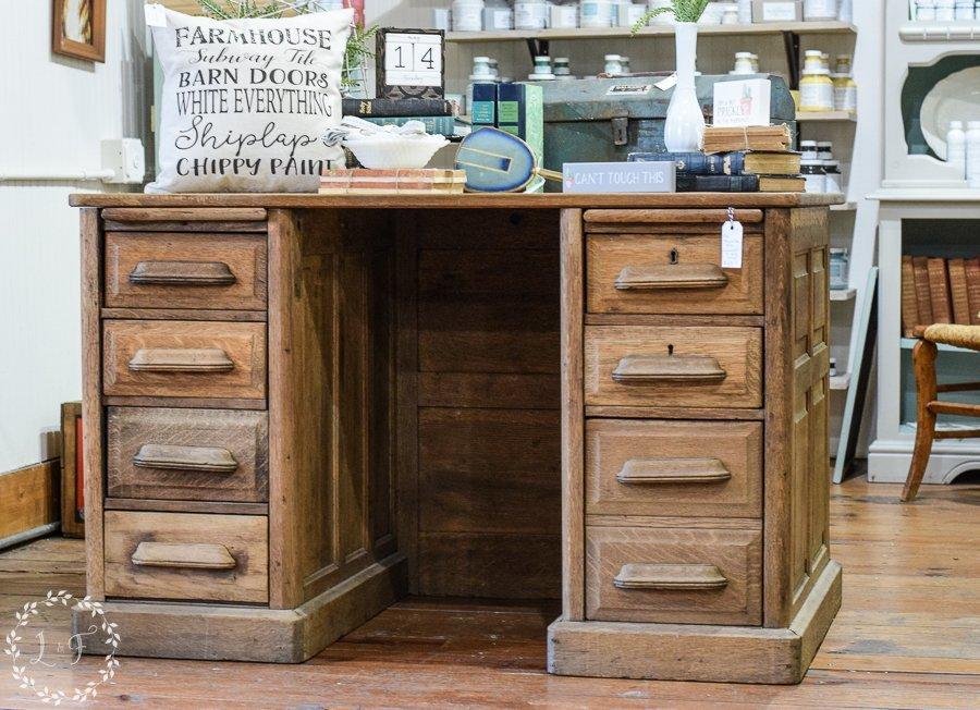 Antique-Oak-Paneled-Desk-3
