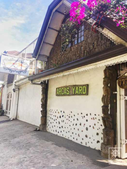 Photo of Arca's Yard facade in Baguio City