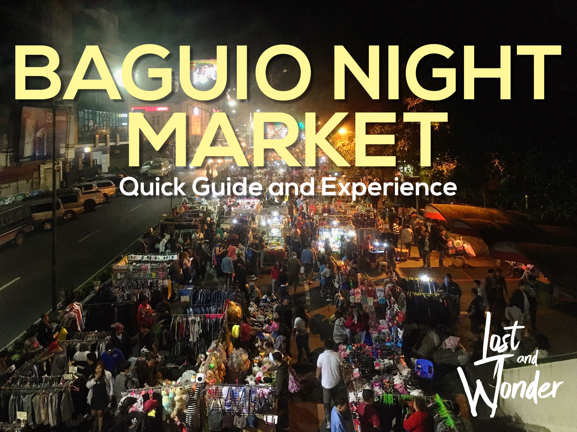 baguio night market