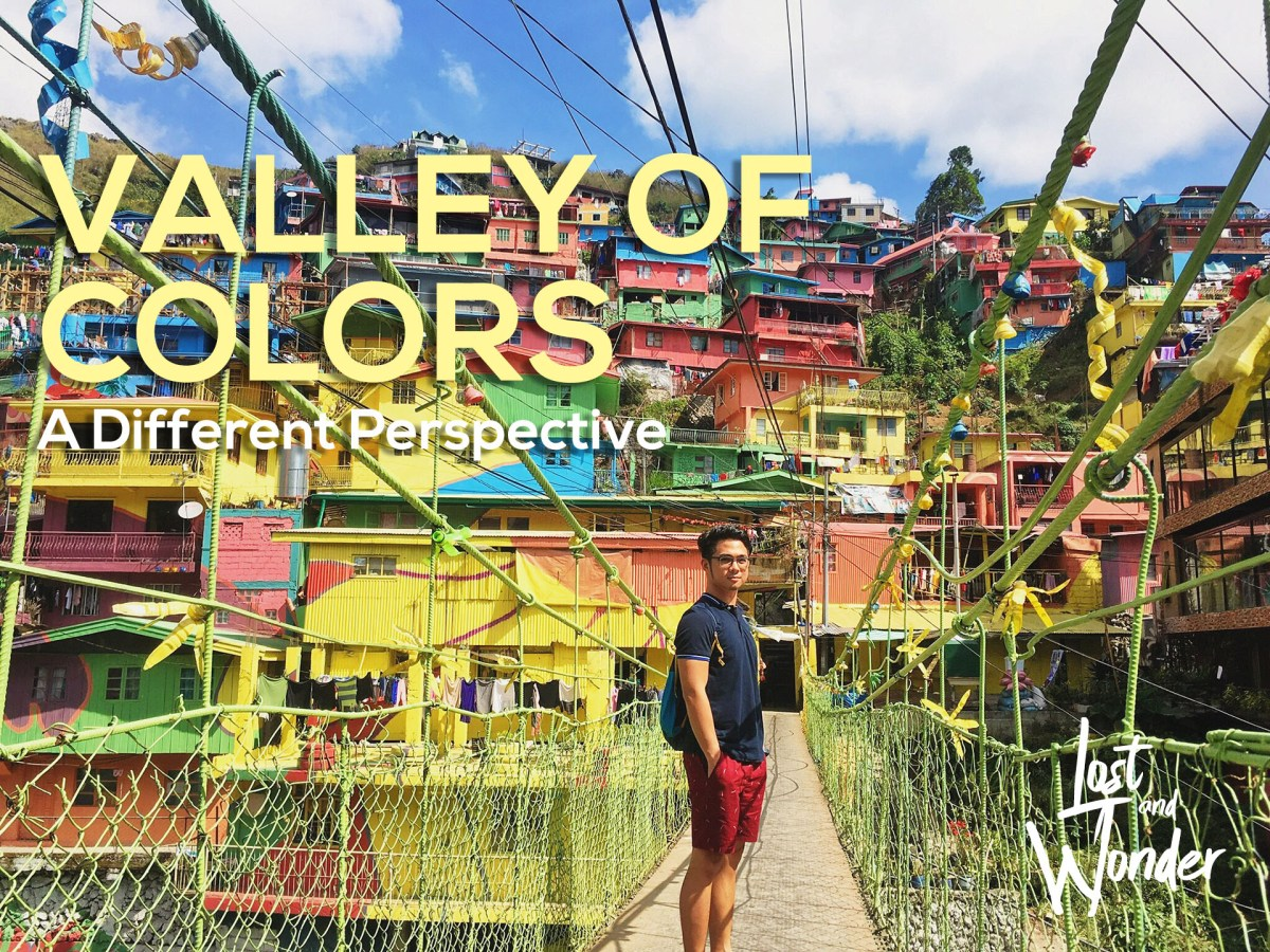 The Valley of Colors: Unusual Vantage of a Color Steep