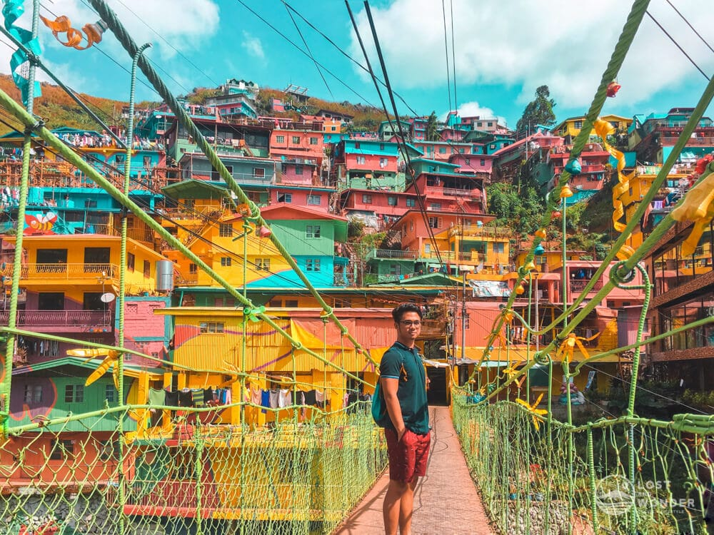 Photo of Stobosa Mural also known as The Valley of Colors in La Trinidad, Benguet