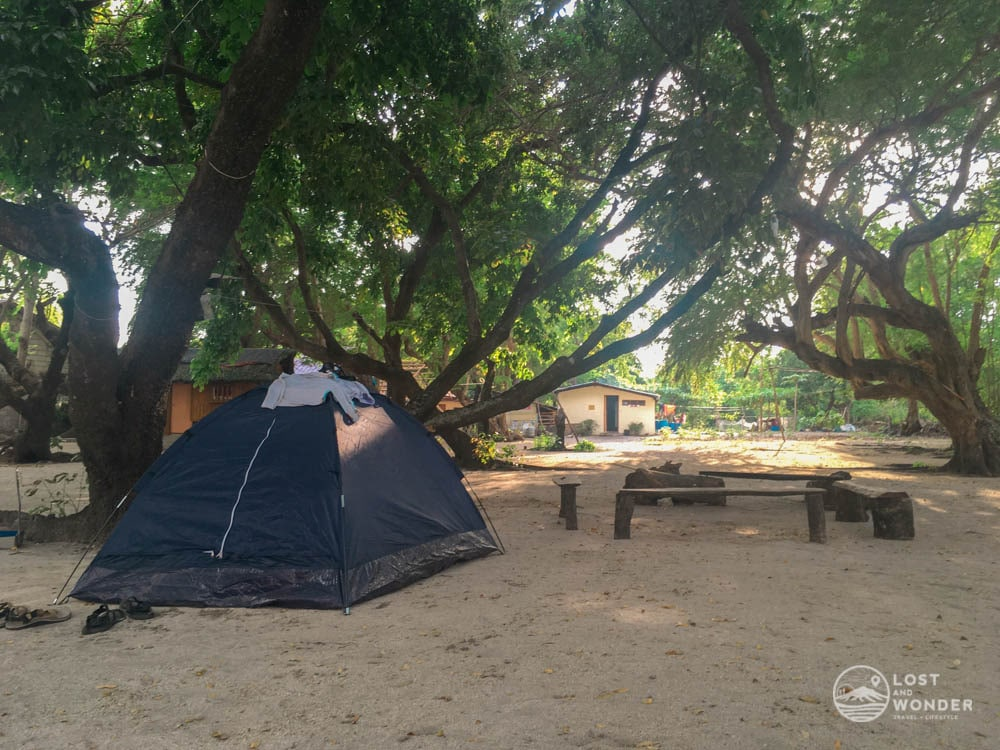 Photo of Magalawa Island tents