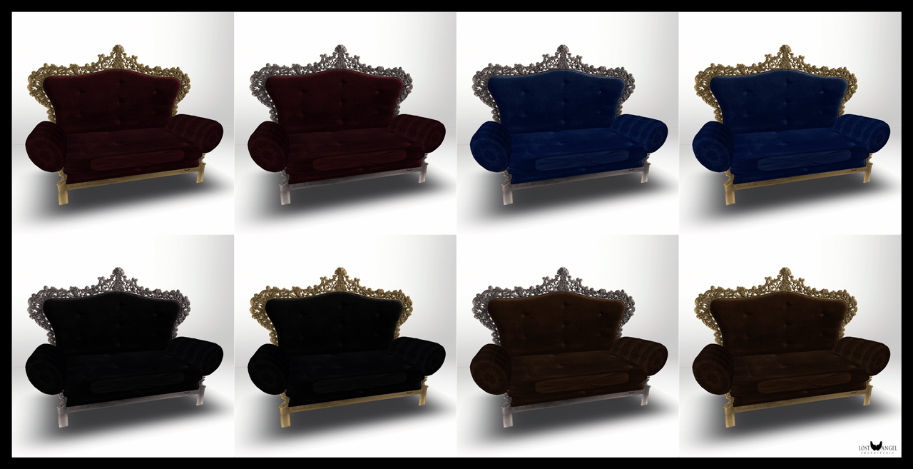 Boudoir Chaise Colors