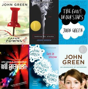 John Green Covers collage